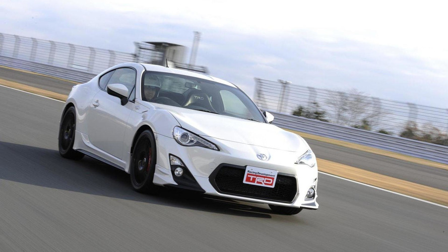 Toyota GT 86 by TRD showcased at Tokyo Auto Salon 2012
