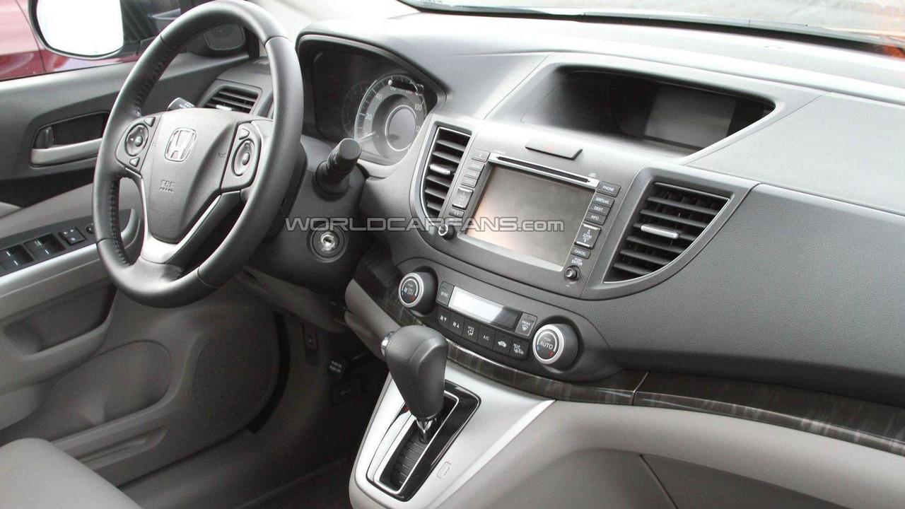 2012 Honda CR-V spied undisguised - 11.11.2011