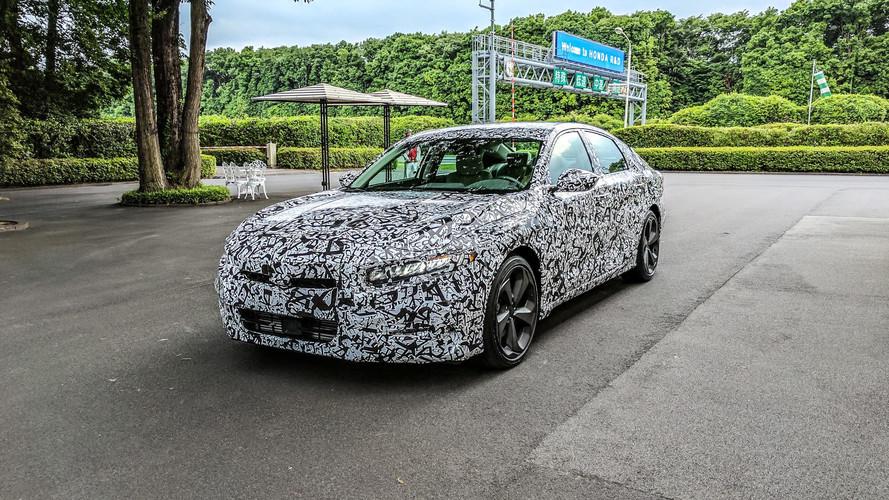2018 Honda Accord Prototype First Drive