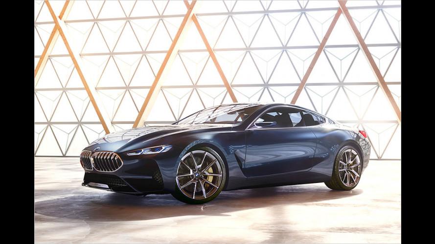 Designstudie gewährt Ausblick auf neuen BMW 8er