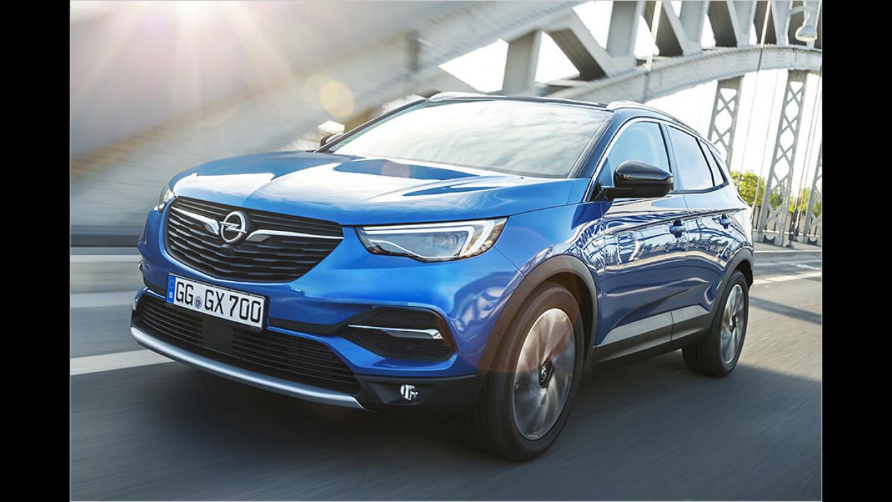 Preise: Opel Grandland X (2017)