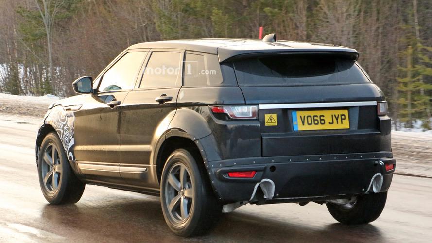 Range Rover Evoque 2018 fotos espía