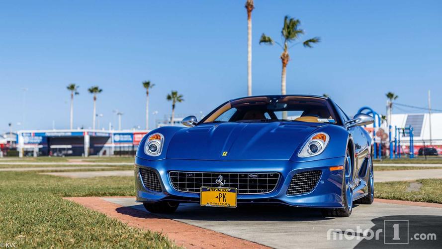 PHOTOS - L'unique Ferrari Superamerica 45 à Daytona