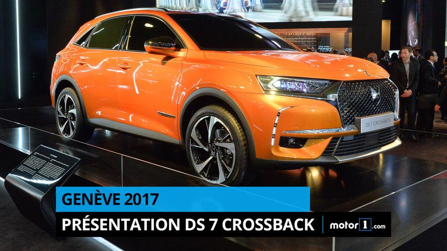 VIDÉO - Le DS 7 Crossback dévoile ses secrets à Genève !