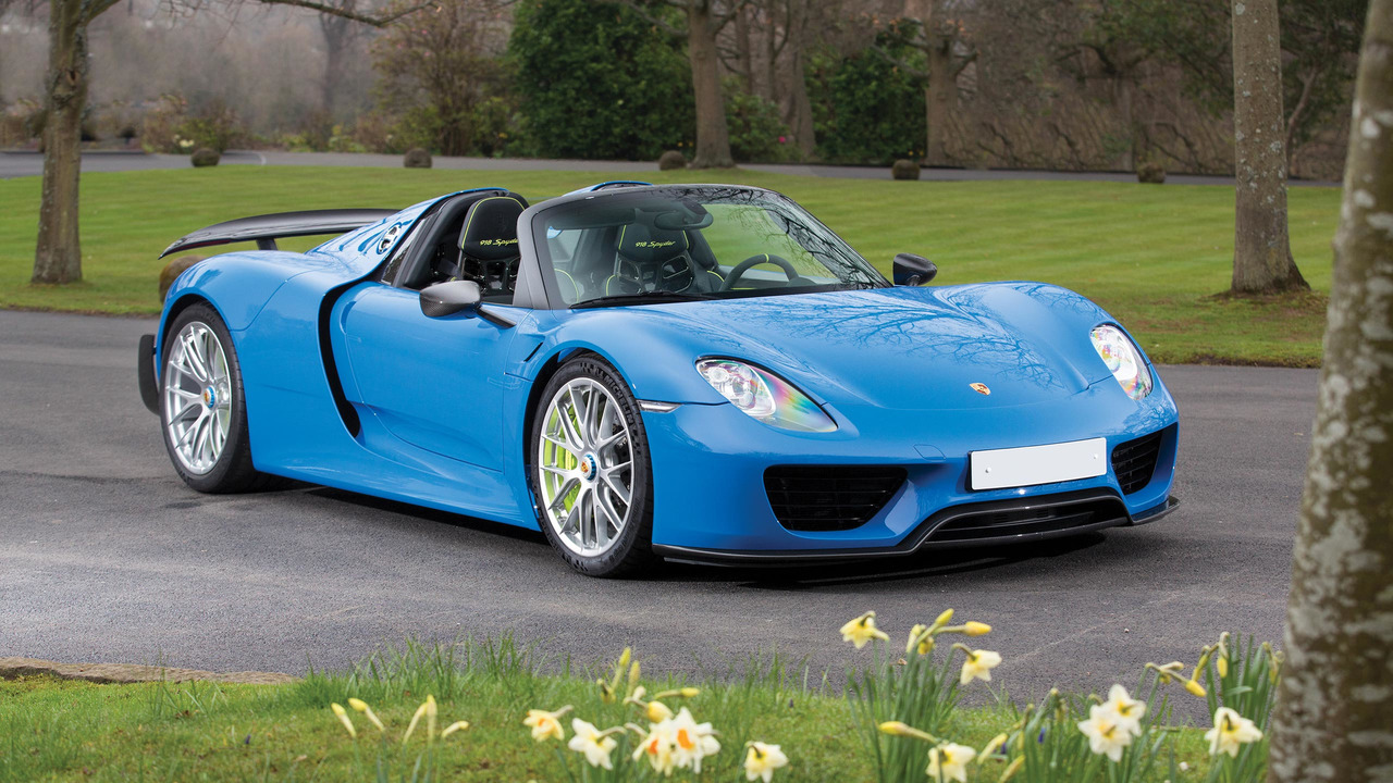 arrow blue porsche 918 spyder photo. Black Bedroom Furniture Sets. Home Design Ideas
