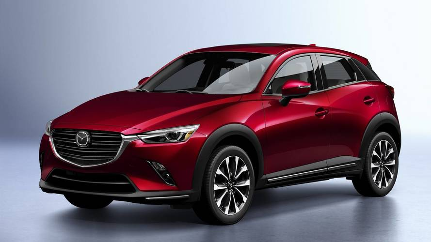 Mazda CX-3, il restyling al Salone di New York