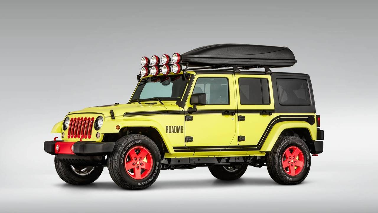 RoadM8 Super 8 Jeep Wrangler