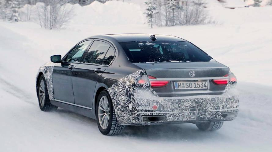 BMW 7 Series Update Spy Photos