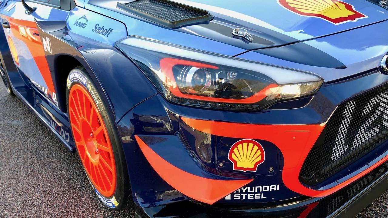 2018 Hyunda i20 Coupe WRC