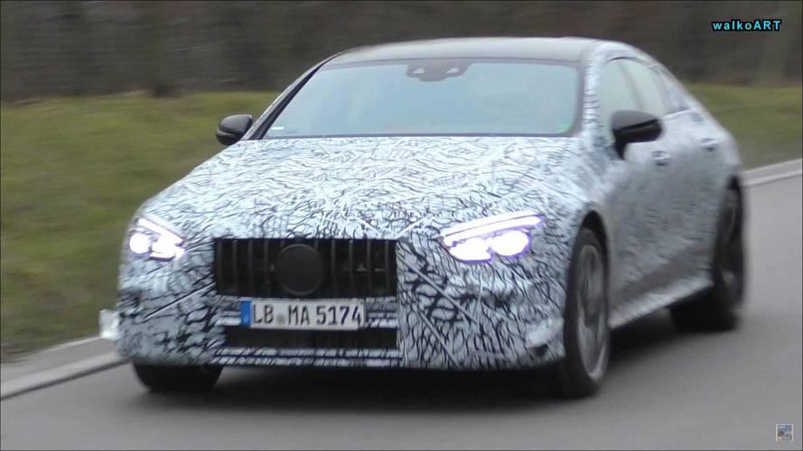 Mercedes-AMG GT Sedan Spy Shots