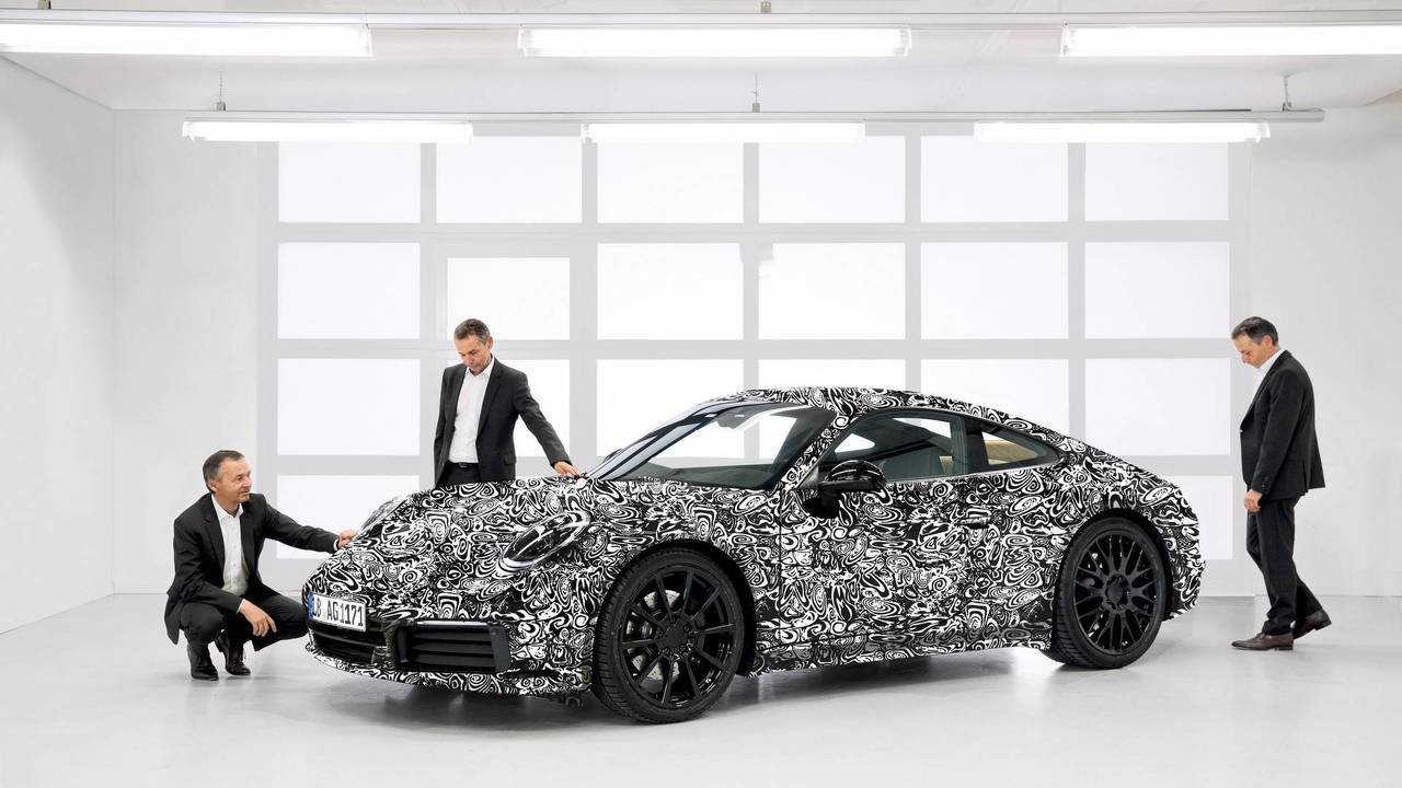 2019 Porsche 911 resmi kamuflaj
