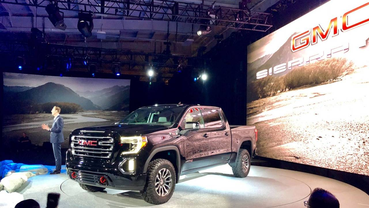 Gmc Sierra All Terrain For Sale >> GMC Launches 2019 Sierra AT4 And Off-Road-Ready Sub-Brand