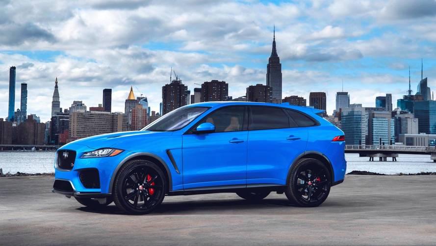 Jaguar podría fabricar un SUV más grande que el F-PACE