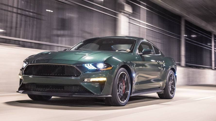 Mustang's tribute to classic Bullitt model revealed in Detroit