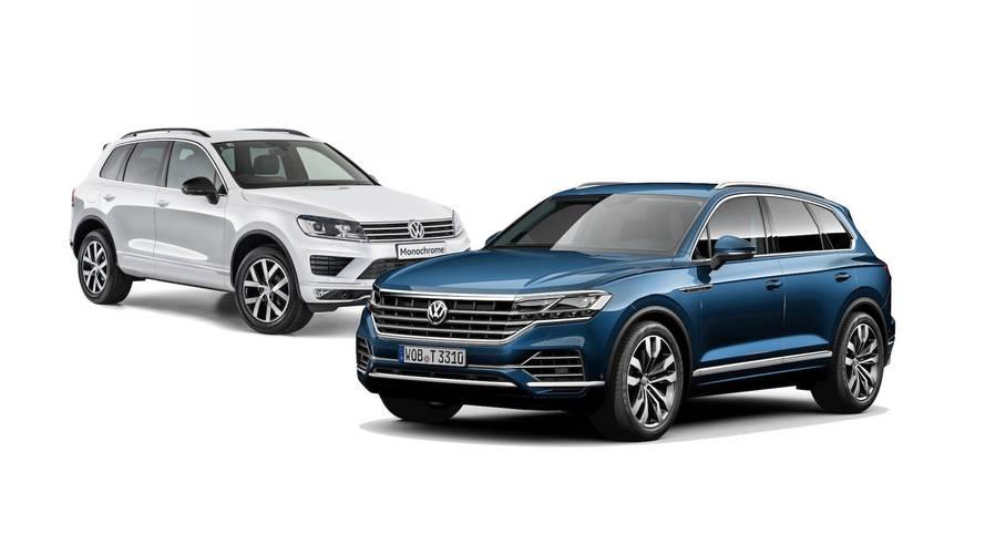 Comparamos el Volkswagen Touareg 2018 frente su antecesor