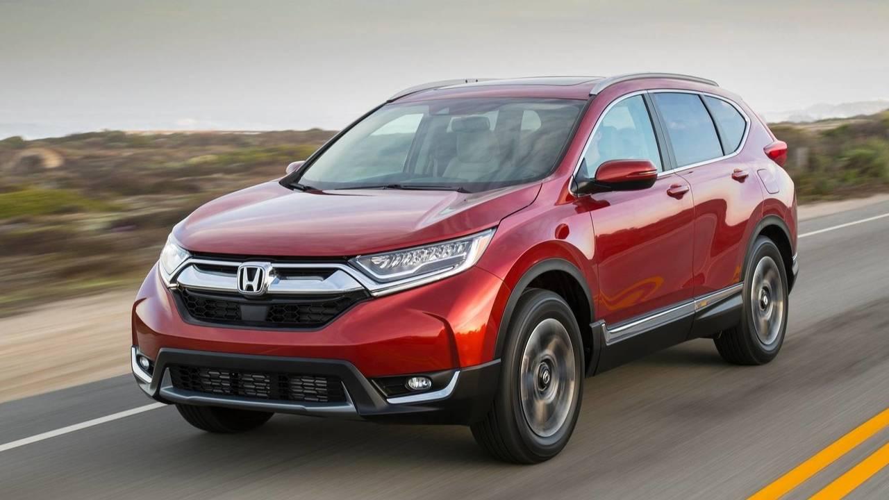 6 - Honda CR-V