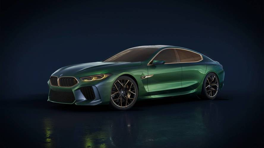Have A Closer Look At The BMW Concept M8 Gran Coupe