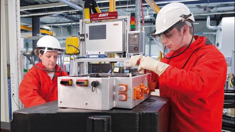 Audi inaugura un impianto per le batterie ad alto voltaggio