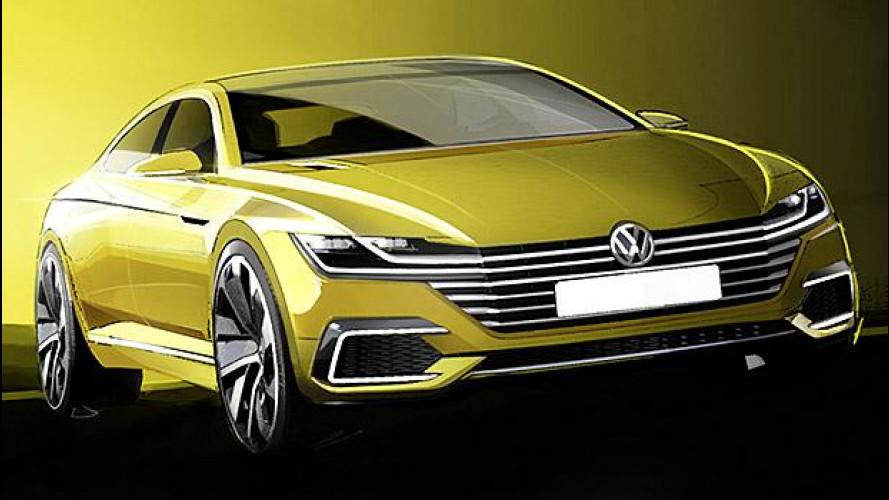 Volkswagen Sport Coupé Concept GTE, lo