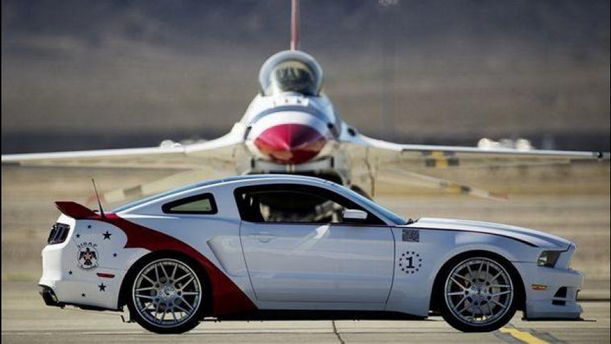 Ford Mustang U.S. Air Force Thunderbirds Edition