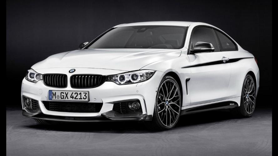 BMW Serie 4: gli accessori M Performance