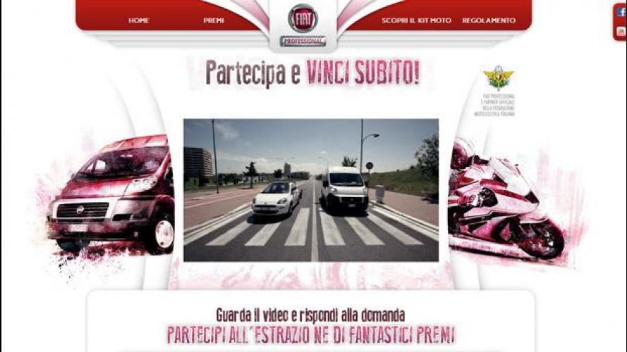 Fiat Professional e il trasporto moto in un concorso online