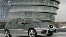 Seat Leon with electro reflective paint
