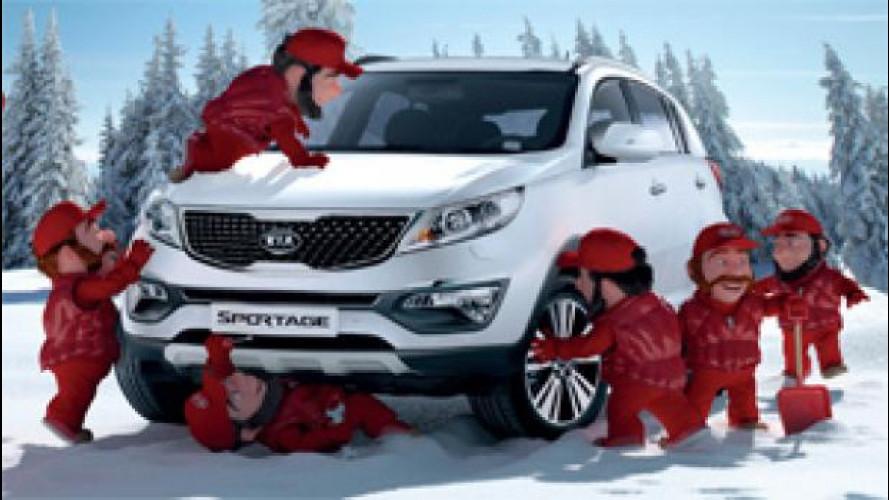 Guida sicura, Kia lancia una promozione per i controlli invernali