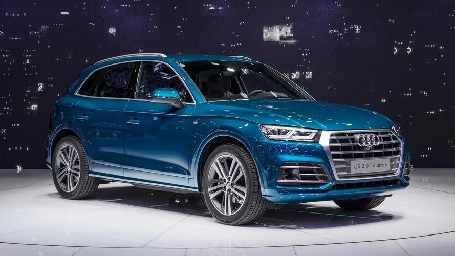 2017 Audi Q5, evrimsel tasarımıyla görücüye çıktı