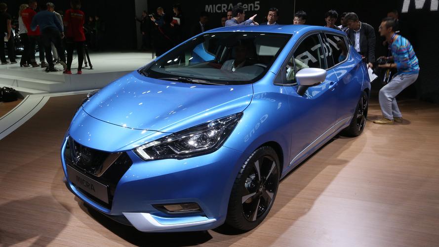 2017 Nissan Micra stant görüntüleriyle karşımızda