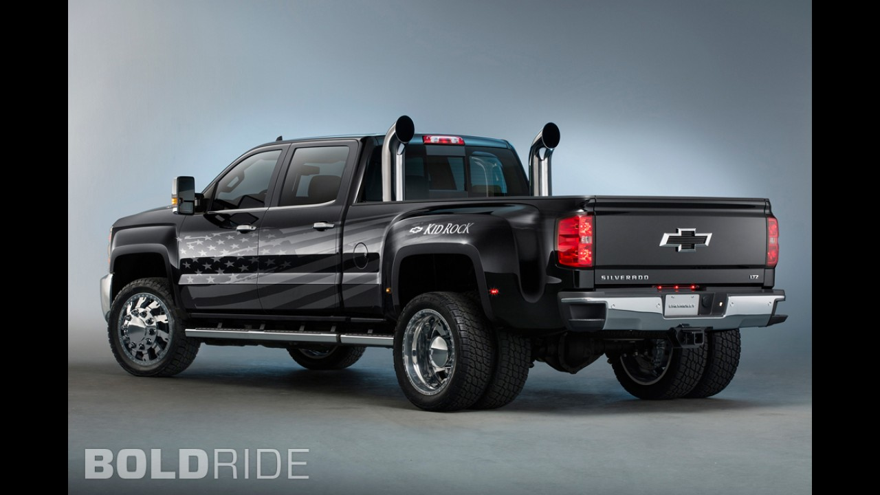 Chevrolet Silverado 3500HD Kid Rock Concept