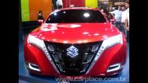 Salão do Automóvel 2008 - Conceito Suzuki Kizashi é destaque do evento
