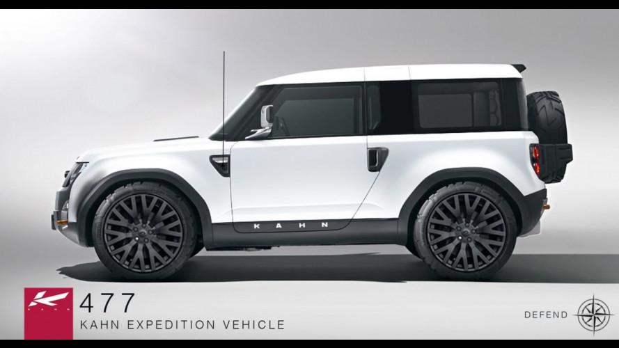 Land Rover DC100 Concept secondo Project Kahn