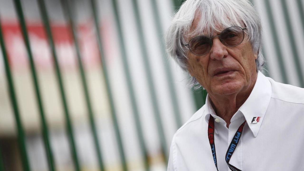 Bernie Ecclestone 24.11.2013 Brazilian Grand Prix