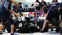 Sebastian Vettel pit stop practice 22.03.2013 Malaysian Grand Prix