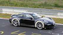 Porsche 911 prototype spy photos could indicate new model slotted between 4S and Turbo