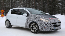 2015 Opel Corsa spied showing new details
