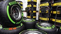 Pirelli tires for the Williams team 21.11.2013 Brazilian Grand Prix