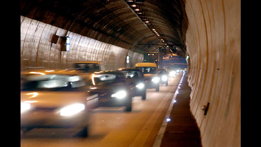 ADAC-Tunneltest 2005: 49 Tunnel in 14 Ländern getestet