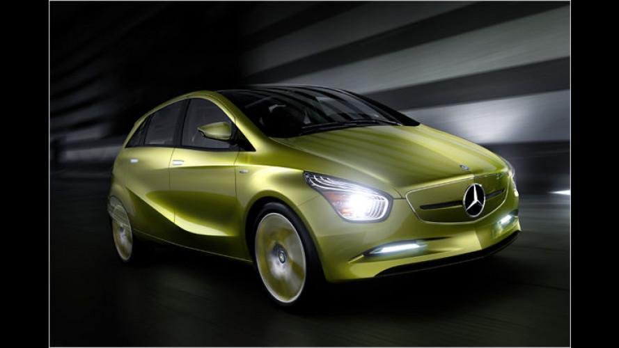 Mercedes Concept BlueZERO: Sauberes Trio in Detroit