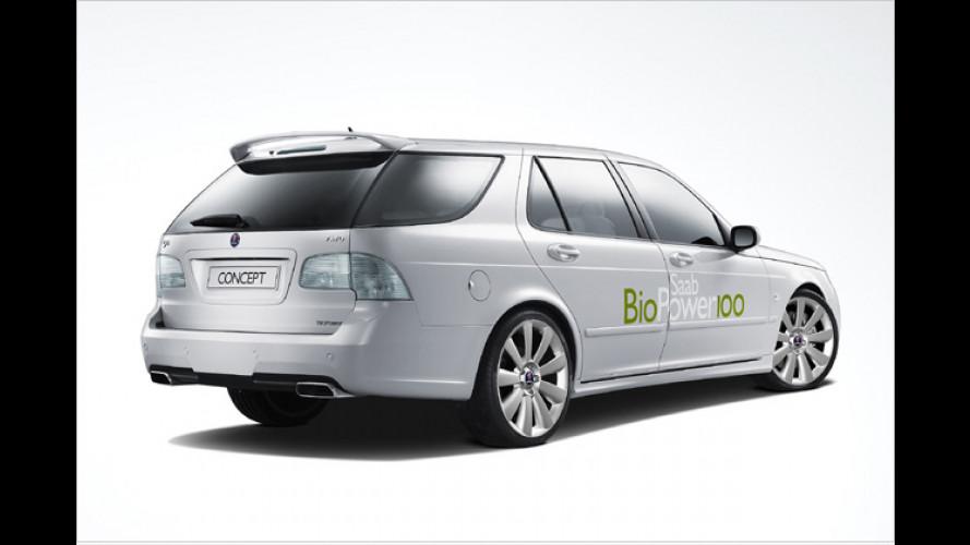 Saab BioPower 100 Concept: Mit Alkohol stark unterwegs