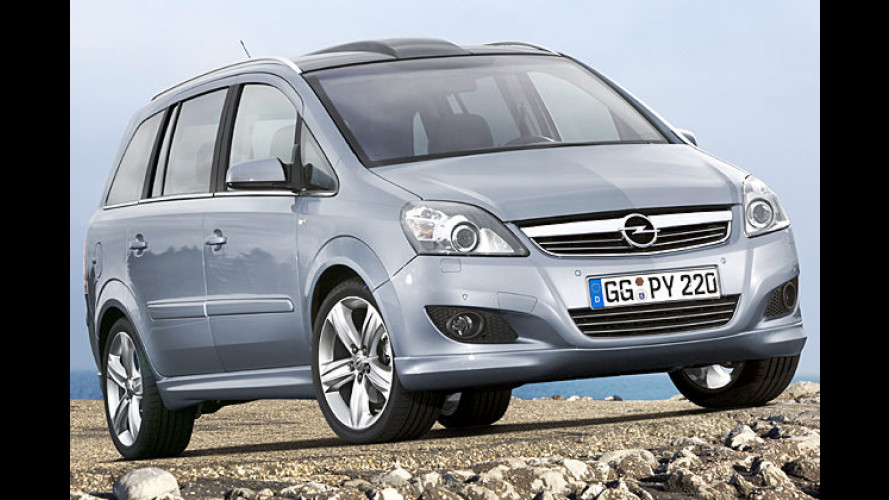 Opel Zafira: Leichtes Facelift für den Familienvan