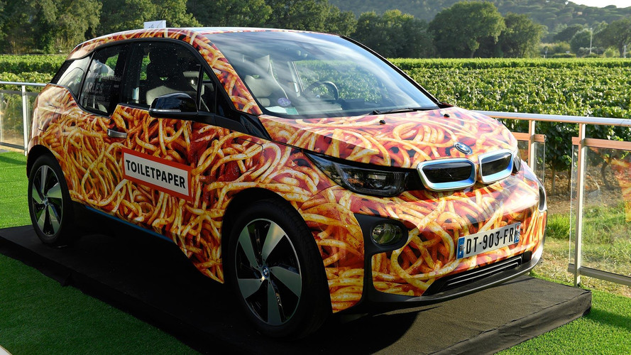 BMW i3 Spaghetti Car Sells For A Saucy $116K To Hungry Buyer