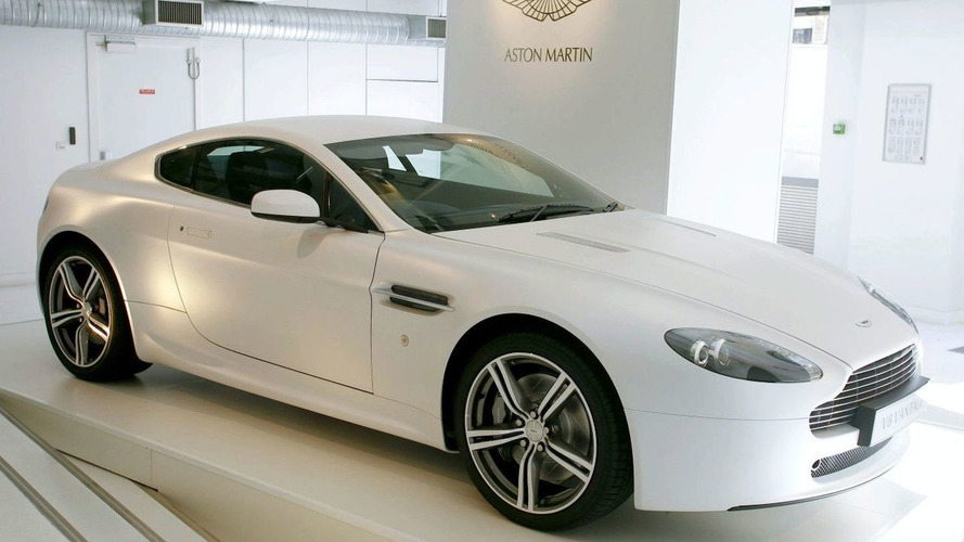 Aston Martin Kilgour V8 Vantage in Fashion Show