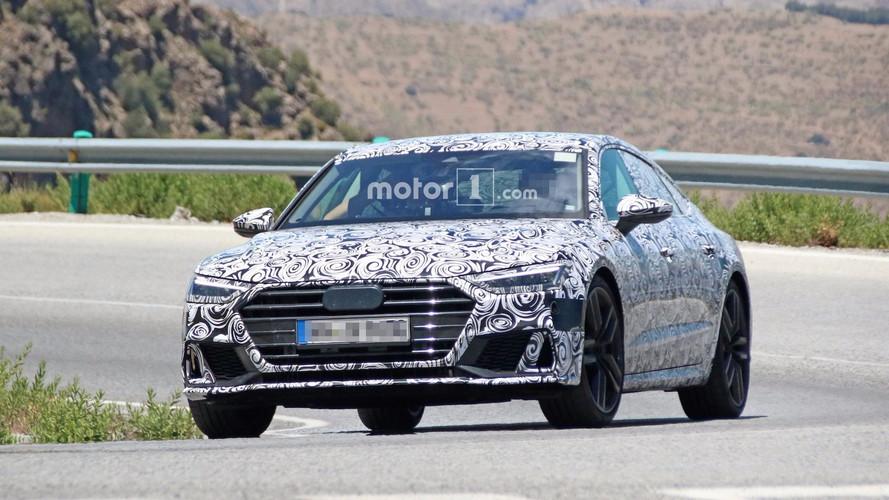 Photos espion - L'Audi S7 de plus de 400 ch en balade