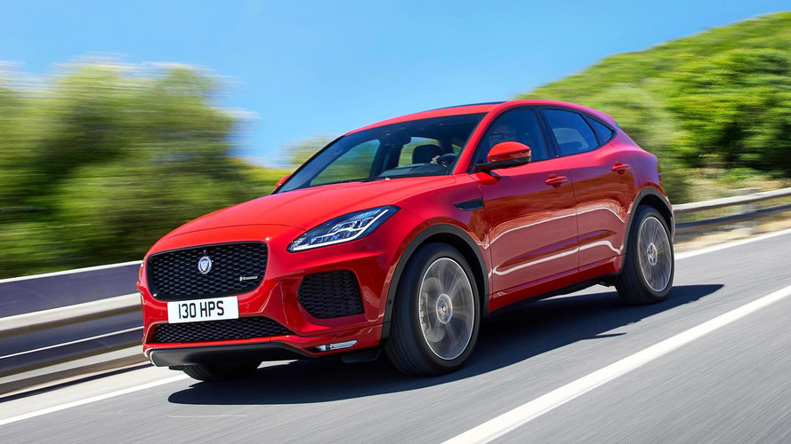 New Jaguar E-Pace Small SUV Revealed In London