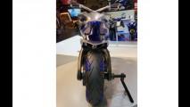 Conceito trail da Yamaha tem três rodas e visual futurista