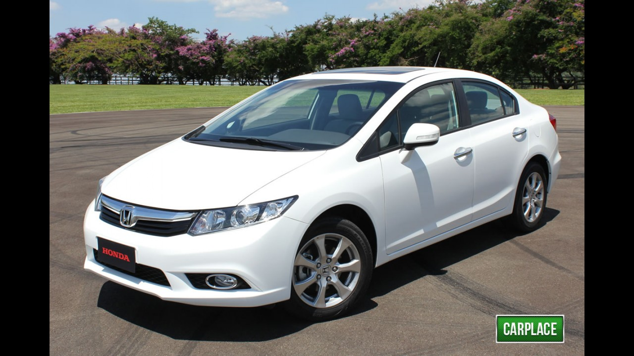 Novo Honda Civic 2012 começa a ser vendido a partir de 17 de janeiro