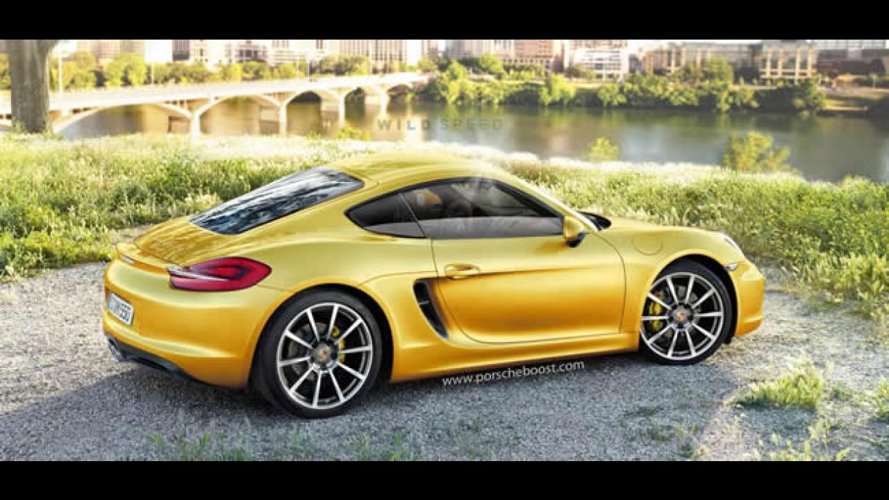 Novo Porsche Cayman 2013 será apresentado no Salão de Los Angeles
