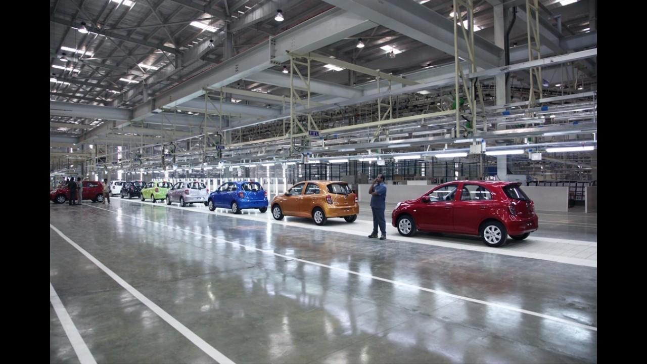 Nissan afirma: Construção da nova fábrica de Resende (RJ) está dentro do prazo e não atrasará
